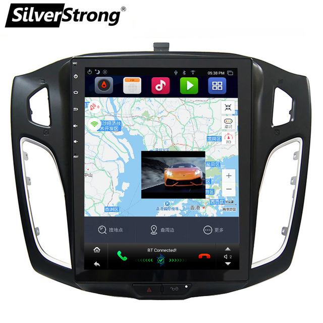 SilverStrong 10.4inch Tesla style Android7.1 Car GPS Radio ...