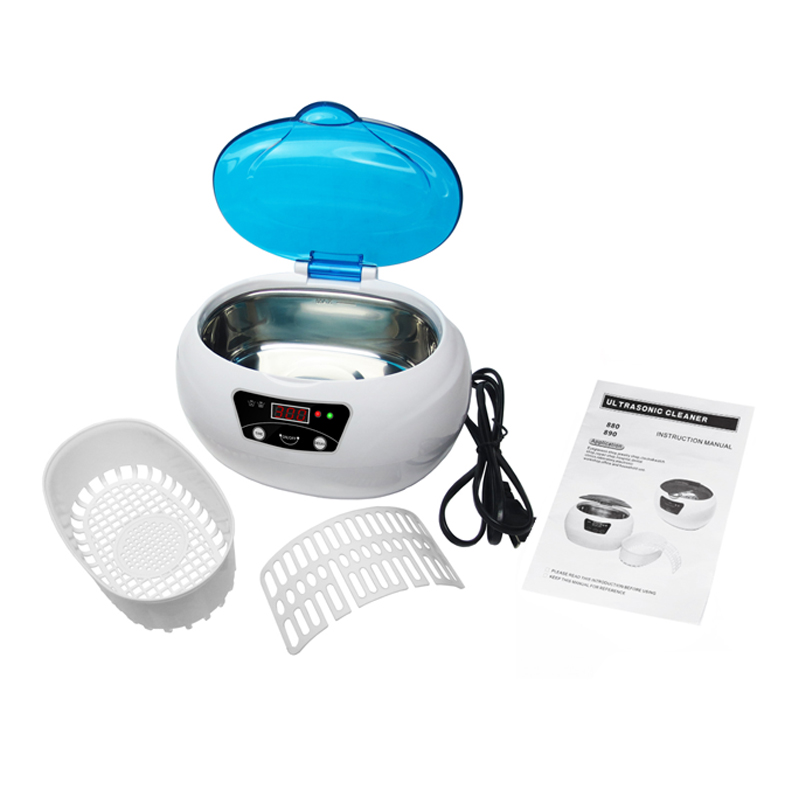 JP-890 600 ML grand réservoir nettoyeur à ultrasons équipement de lavage professionnel avec dégazage chauffage minuterie bain nettoyeur à ultrasons