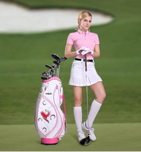 2017 Sweetheart Pu Golf Bags Women Cart Bag Las Club