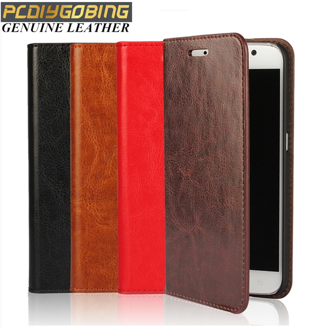 Luxury Real cowhide genuine leather Phone cover wallet bag flip case for Samsung galaxy Note4 Note5 S7 Edge S5 S6 Edge Plus A7