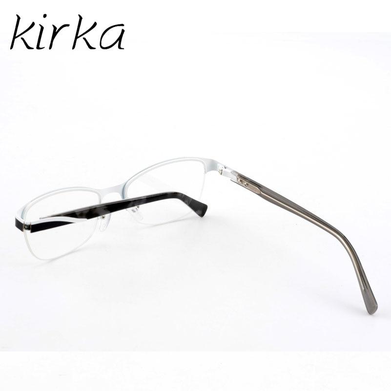 Kirka Metal Half Rim Office Type Women Eyewear Frames for Female ...