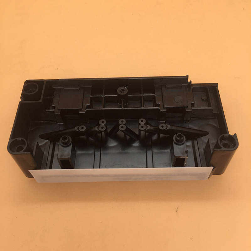 Original Epson F158000 F160010 DX5 Printhead Mainfold Adaptor untuk Mimaki JV33 JV5 Mutoh RJ900C Dasar Air Printhead Cover