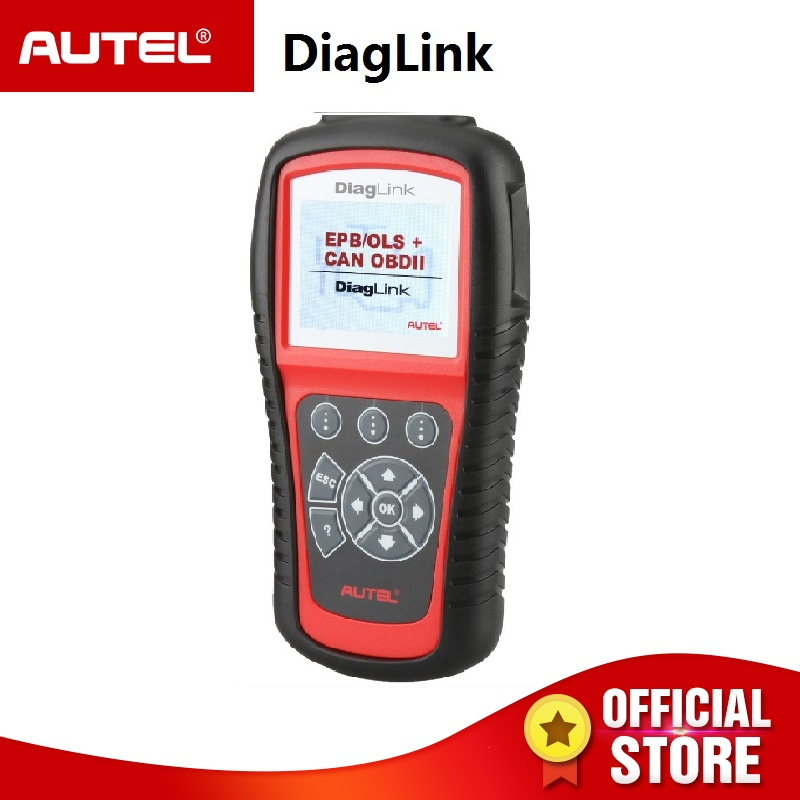 Autel Diaglink OBDII EOBD Auto Diagnostic Tool OBD II Code Reader Scanner for OBD2 EPB ABS Oil service PK MD805 MD802 ms310 2 lcd obdii eobd code reader auto diagnostic scanner