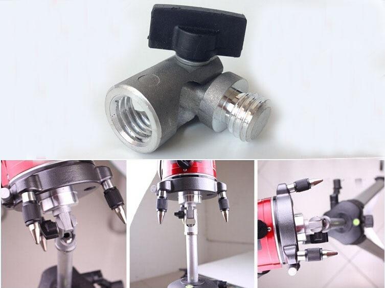 180 degree tiltable adaptor for laser level font b tripod b font slash line adaptor for