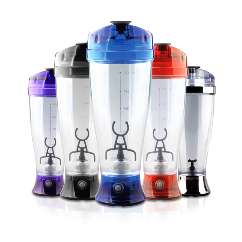 Home Office Colors Self Stirring Bottle Battery Chocolate Milk Mixer Bottle Automatic Coffee Mixer Protein Shaker Blender
