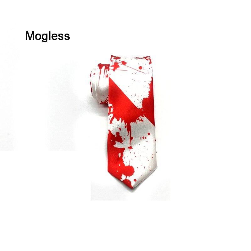Mogless Men's 5.5cm Narrow Tie Novel Pattern Men's Business Tie Social Wedding Banquet Formal Tie Men's Clothing Accessories