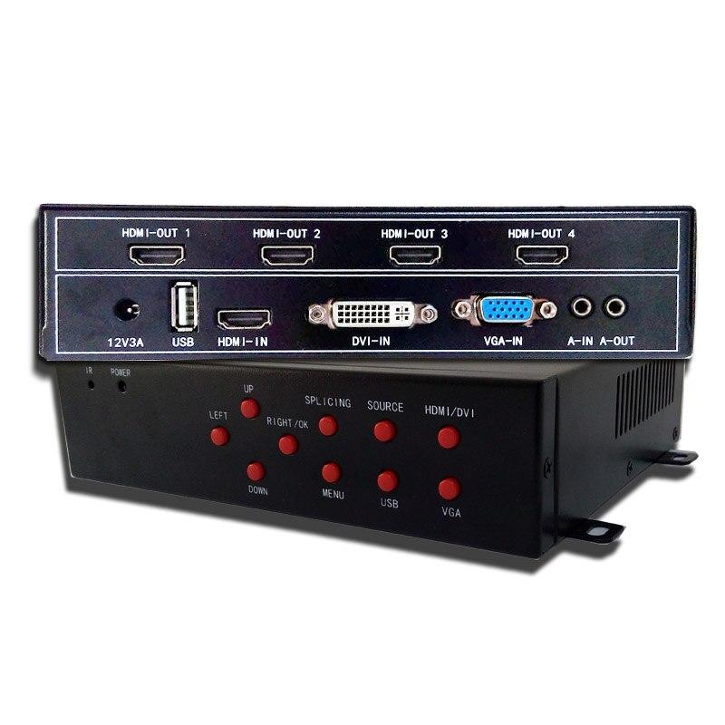 3x2 video vægprocessor med USB-hdmi input hdmi - Hjem lyd og video - Foto 2
