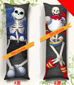 Actualizado en mayo de 2016 juego caliente Undertale Personajes sans x cacheo y Papiro Almohada consejo de anime almohada cubierta esqueleto Humano