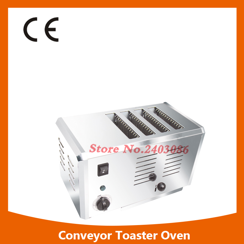 Multifunction 4 Slice Stainless Steel Electric Bread Toaster,High Quality 4 Slice Toaster,Commercial Electric Bread Toaster salter air fryer home high capacity multifunction no smoke chicken wings fries machine intelligent electric fryer