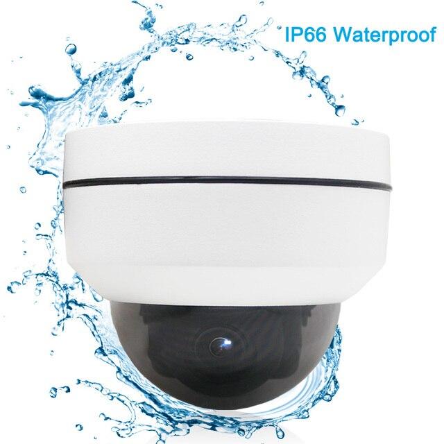 PTZ Speed Dome Camera IP 1080P Full HD Onvif 3X Zoom P2P H.264 30m IR Night Vision Waterproof 2MP Outdoor Dome POE PTZ IP Camera