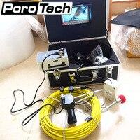 7D1 40 м DHL канализации камера инспекции полезный инструмент в сантехника промышленности эндоскопическая камера видео