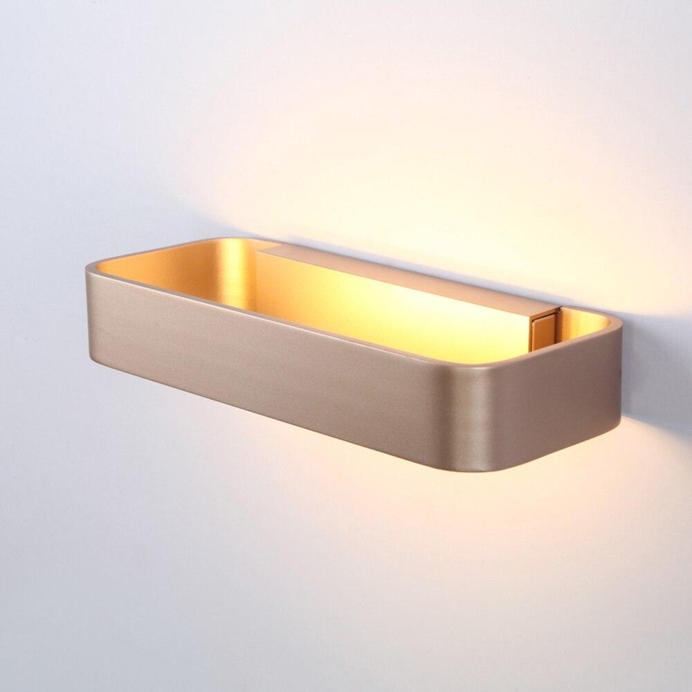 Nordic lampada da parete camera da letto ha condotto bagno specchio ...