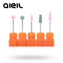 Electric Manicure Drill Nail Cutter Quartz Nail Drill Bits Cuticle Clean Milling Manicure Pedicure Tool 3/32