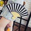 2017 Real Pocket Women Single Cell Phone Zipper Shoulder Bags Shell The New Summer Designer Female Fan Bag Chain Pull Clutch