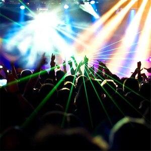 Image 5 - Professionnel DMX 100mW vert Laser scène éclairage Scanner Effcet barre de noël danse fête spectacle lumière DJ Disco Laser projecteur lumières