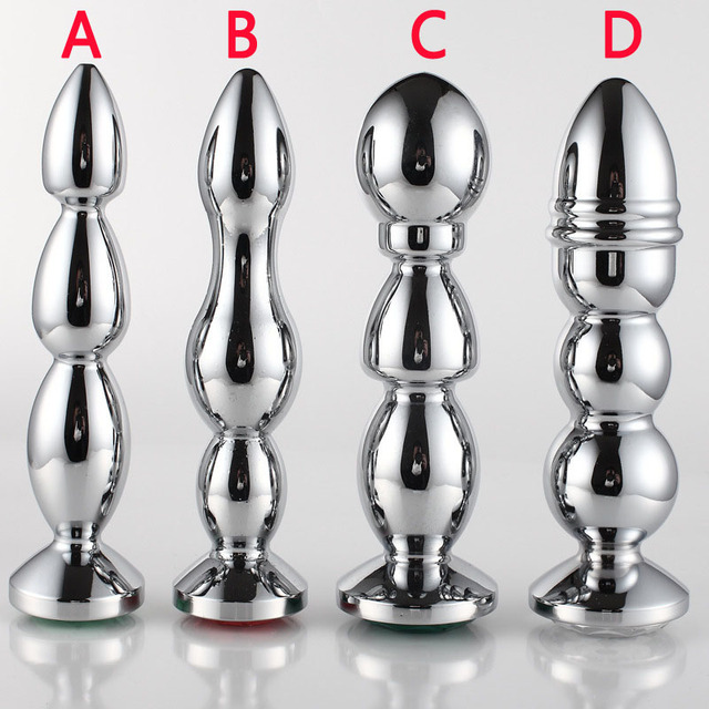 G spot stimulator metal anal plug sex toys for woman dilatador anal beads butt plugs anus dilator vaginal balls buttplug sextoy