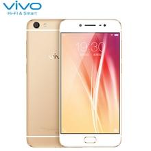 Оригинал VIVO X7 Сотовый Телефон 4 ГБ RAM 64 ГБ ROM Snapdragon MSM8976 Octa Ядро 5.2 дюймов 16.0MP Камера Android 5.1 смартфон