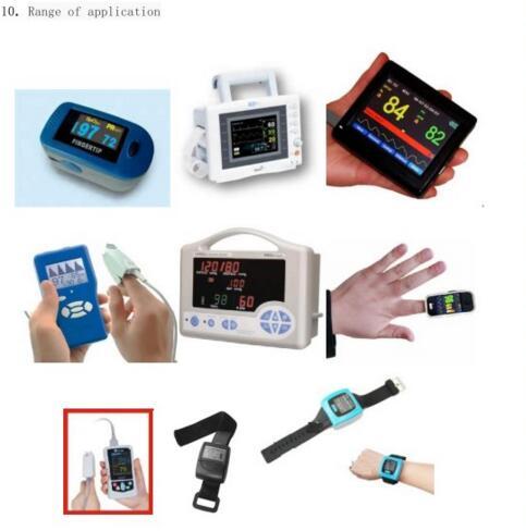5pcs/lot Low Power Consumption Digital LED Screen SPO2 Module OEM blood oxygen module Pulse Heart rate meter Oxygen pulse tester