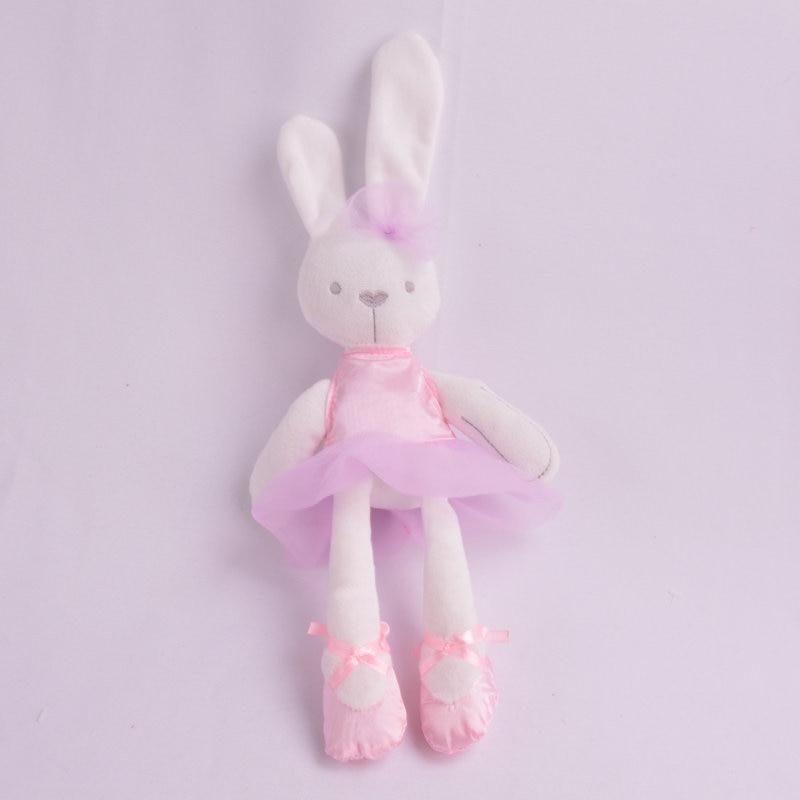 pink cloth rabbit