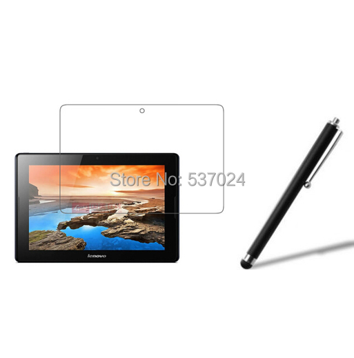 Matted Anti-Glare Screen Protector Film Films Matte Guards + Stylus For Lenovo Tab A10-70 A10 70 A7600 A7600-H A7600-HV 10.1