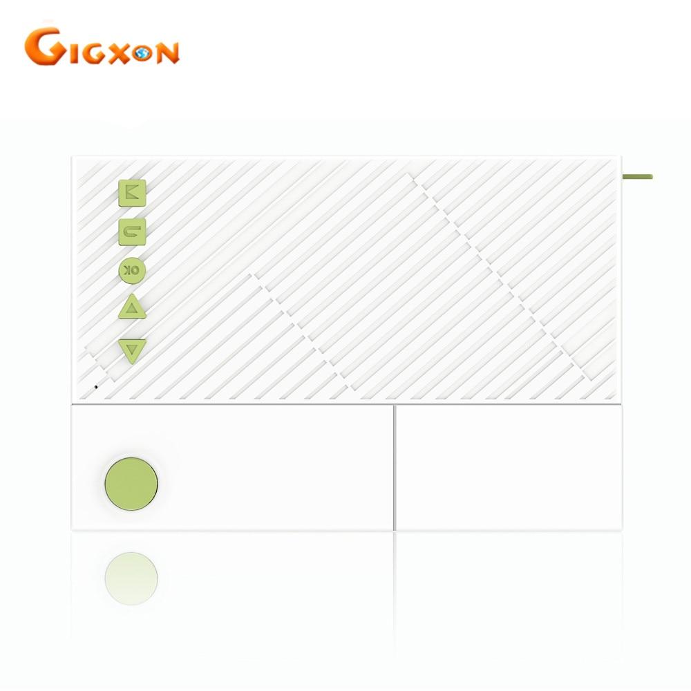 Gigxon-g19 + yg310 película proyector full 1080 p 400-600 lúmenes para estudio p