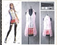 Final Fantasy XIII FF 13 Serah Farron Cosplay Costumes