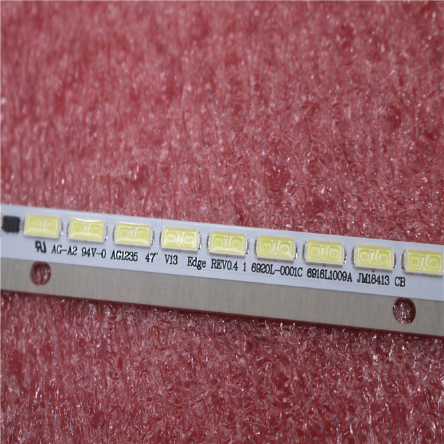 شريط إضاءة خلفية LED 100% مللي متر جديد أصلي مكون من 66 لمبة LED 47 بوصة V13 Edge 6920L 0001C 6916L1003A 69161009B لـ 6922L 0052A 6922L 0052