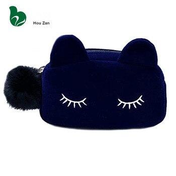 Damska kosmetyczka z kotem