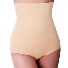 Women High Waist Tummy Control Panties Waist Body Shaper Seamless Underpants Slimming Pants Shapewear Girdle Fajas Modeladoras