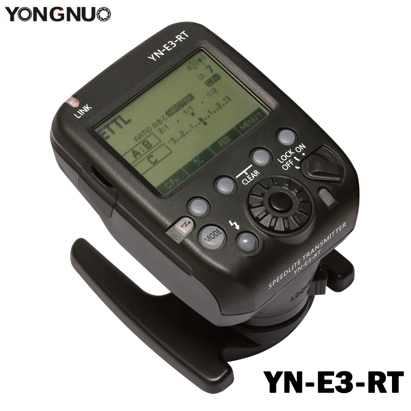 Yongnuo YN-E3-RT TTL Radio Trigger Speedlite speedlight Transmitter as ST-E3-RT for Canon 600EX-RT YONGNUO YN600EX-RT II 3pcs yongnuo yn600ex rt auto ttl hss flash speedlite yn e3 rt controller for canon 5d3 5d2 7d mark ii 6d 70d 60d