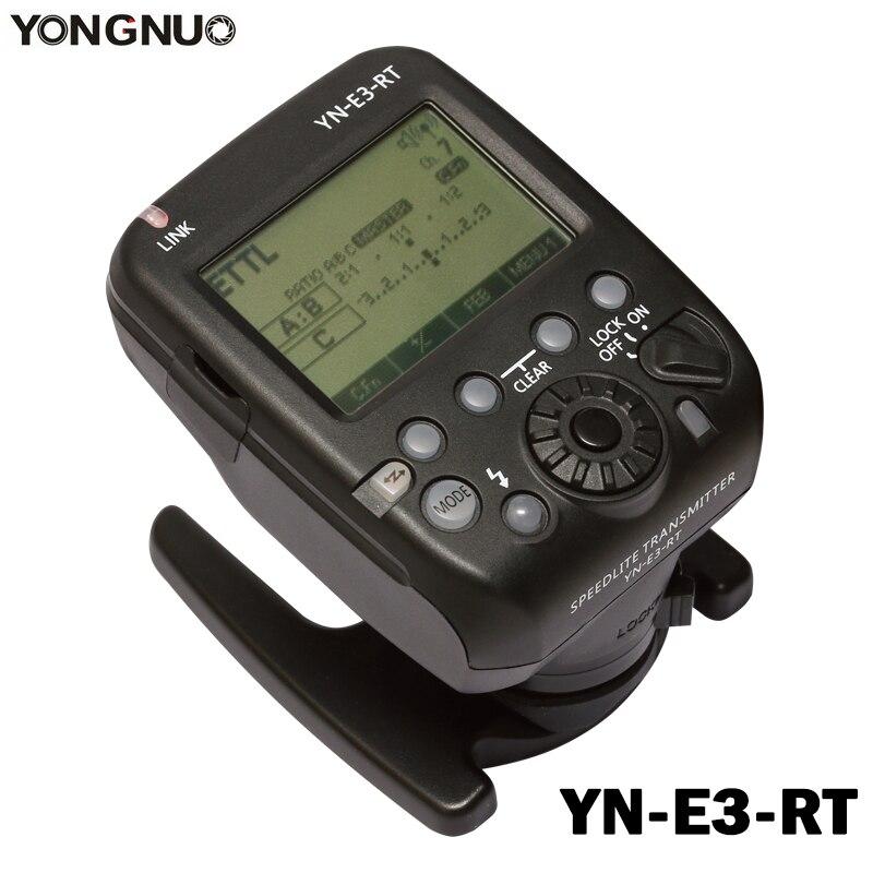Yongnuo YN-E3-RT TTL Radio Trigger Speedlite flash Émetteur comme ST-E3-RT pour Canon 600EX-RT YONGNUO YN600EX-RT II