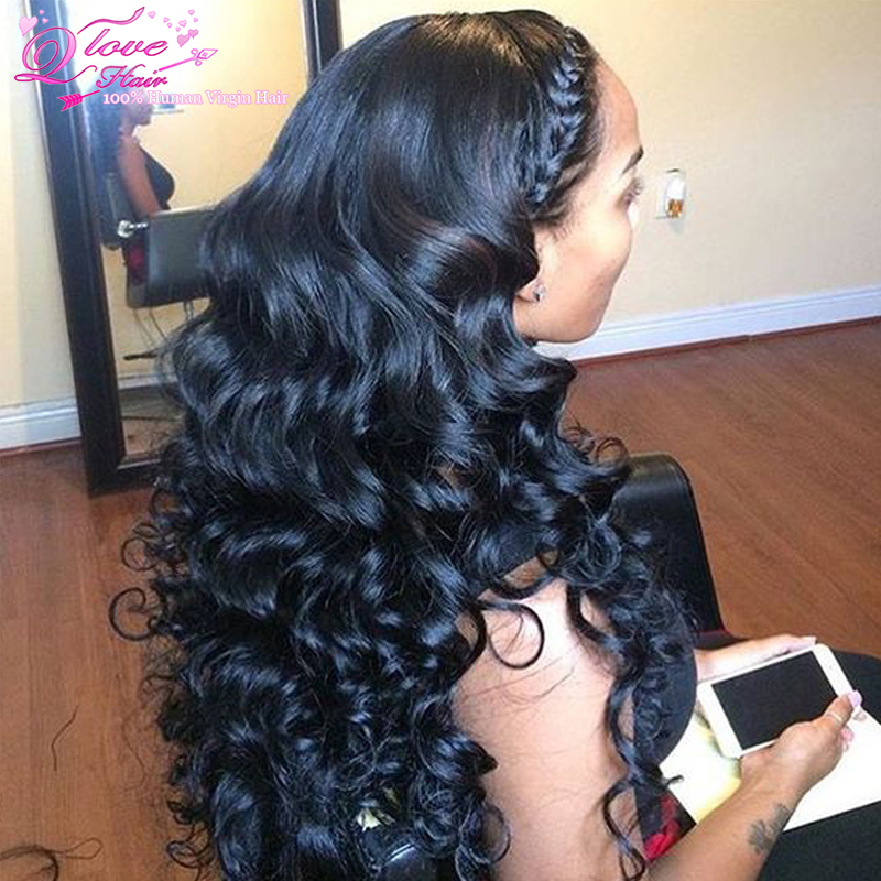 Peruvian Loose Wave 34 Bundles 8a Loose Wave Virgin Hair