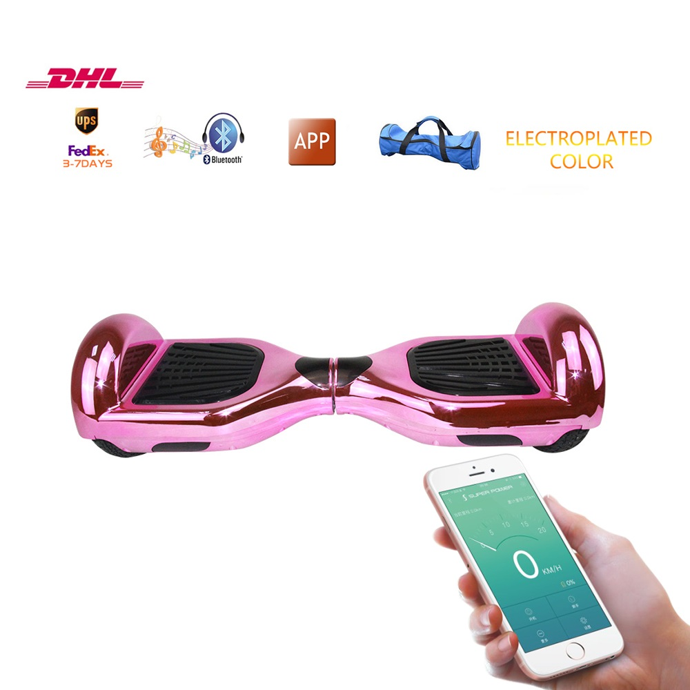Free freight self- balancing electic scooter intelligent hoverboard App control hover board Wheel Drifting Board bluetooth music 10 inch electric scooter bluetooth hoverboard strong power remote control for aldut high quality hover board free shipping