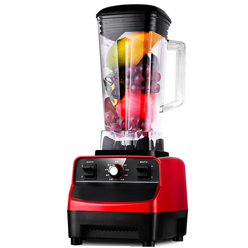 VOSOCO Fruit juice machine Food processor cooking blend Juicer meat grinder ice dry grinding mixing food mixers Grinding machine free shipping 220v industrial professional kitchen national multifunctional food processor for grinding mixing juice ice mixer
