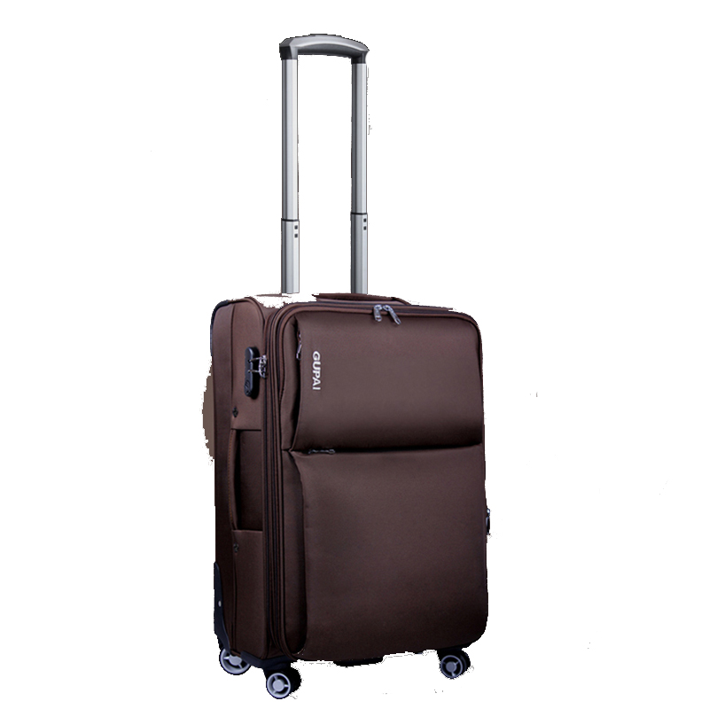Oxford Rolling Luggage Spinner password Trolley 28 inch large capacity Suitcase Wheels 20 inch Cabin Travel Bags Trunk