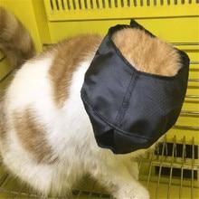Zgpzpet нейлон кошка Морда Для ванной защиты маска котенок путешествия фара удобный для купания мордочки антиукус уход за котом Supplie