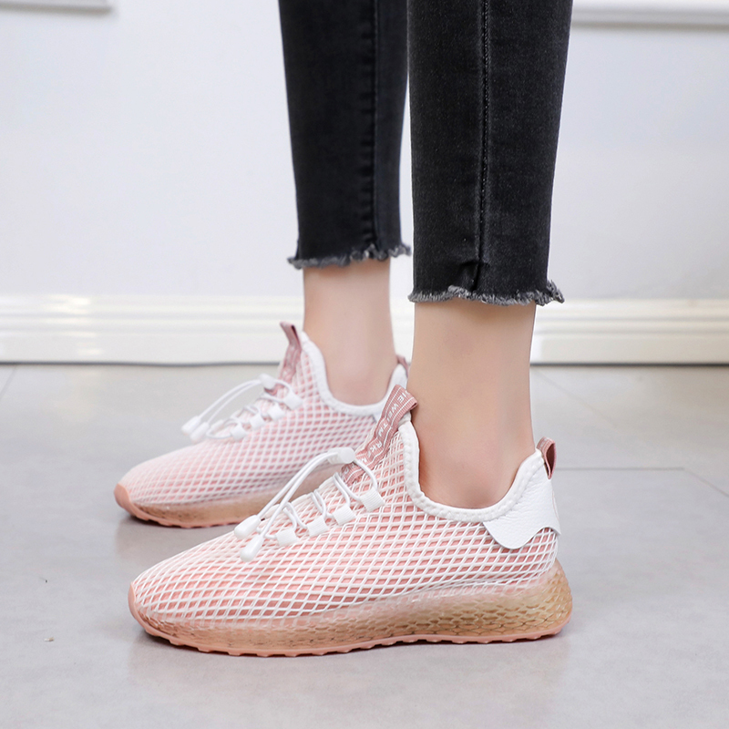 Fashion Sneakers Shoes Basket Trainers Women Ladies Summer Low-Top Lace-Up XZ157 Flat-Heel