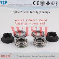 Sellos de la Griploc de 35mm/Flygt y Grindex bomba 2135/2151/2201/3126/3127/4440/4451