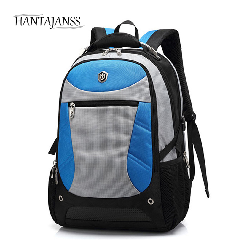 HANTAJANSS New Men Backpack For Laptop Backpacks Large Capacity comfortable Stundet Backpack Casual Travel Bag Luggage backpack