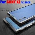 Case Для SONY XZ 5.2 ДЮЙМОВ Роскошный Оригинальный Luphie Меч Алюминиевый Металлический Каркас Case Для SONY XZ SX2