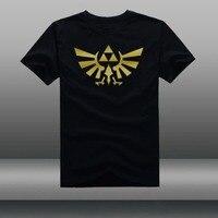젤다 티셔츠 Hyrule 왕실 왕국 씰 티 유명 비디오 게임 Triforce2 기호 T 셔츠 유로 크기-XXXL