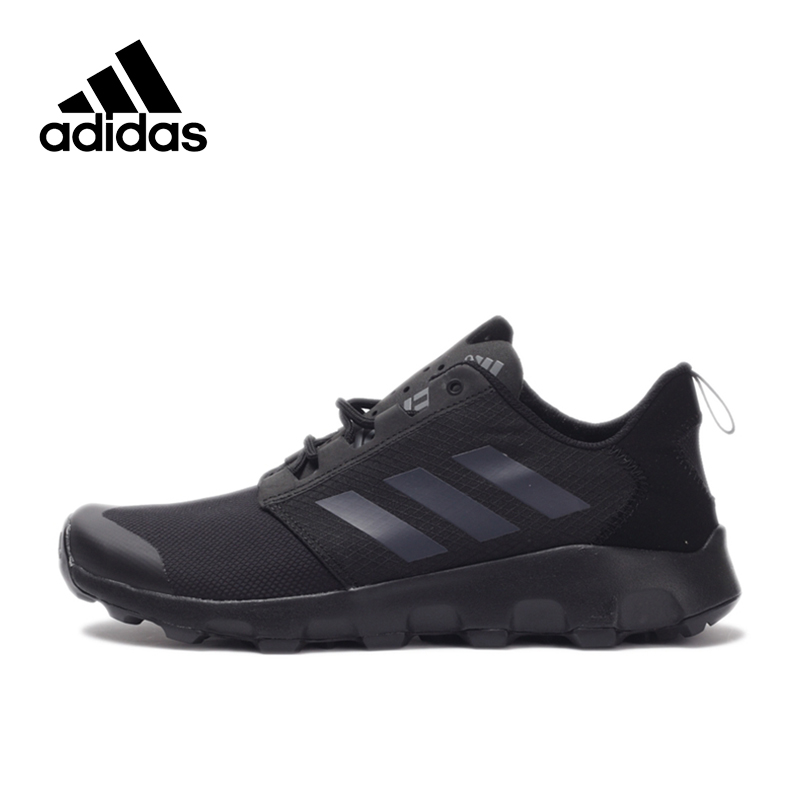 New Arrival 2017 Original QS Adidas TERREX VOYAGER DLX Men's Hiking Shoes Outdoor Sports Sneakers homens Adidas Sneakers original new arrival adidas b slip on dlx unisex hiking shoes outdoor sports sneakers