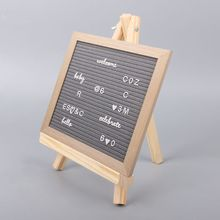 18X24cm Mini Artist Wooden Easel Wedding Table Card Stand Display Holder For Party Decoration portable artist wooden easel watercolor easel gouache frame oil paint wood stand wedding table card stand display holder party