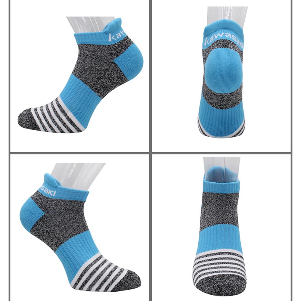 Kawasaki Branded Men's Running Socks Breathable Cotton Sport Socks Cycling Professional Male Socks 6