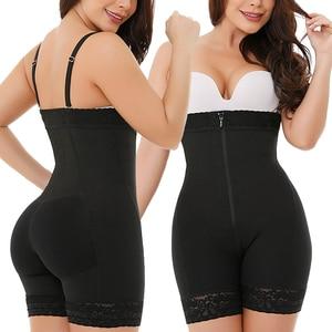 Image 3 - Womens Seamless Shapewear Tummy Control Thigh Slimmer High Waist Butt Lifter Body Shaper Waist Slimming Shaper Postpartum Girdle