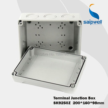 IP65  200*160*98mm  ABS Plastic  Electronic Terminal  Junction Enclosure   (SK9250Z)