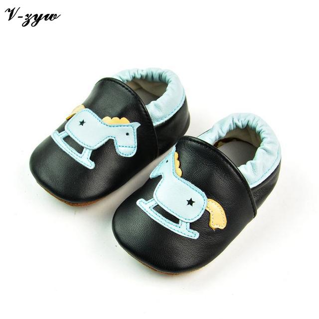 Moda Bebê Primeiros Caminhantes Sapatos Macios Sapatos de Bebê de Couro Botas de Caminhada Respirável Primavera Outono Meninos Meninas Sapatos Infantis Chinelos GZ031
