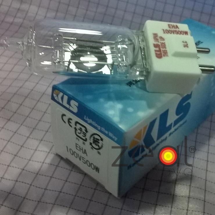 2pcs/Lot For 100V 500W Line Voltage Projection Lamp KLS EHA 100V500W Japan Halogen Bulb Machine Tool Light,OHP Projector jcd 100v 650w cl projection halogen lamp 100v650w enlarger photo photographic bulb free shipping