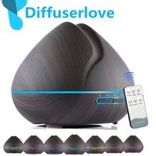 Diffuseur dhuile essentielle et darôme, humidificateur MLAir, diffuseur daromathérapie avec télécommande, 500