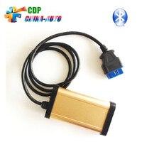 3 шт./лот 2016 Лидер продаж золото Цвет CDP PRO + Bluetooth 2013 R3 CDP PRO TCS CDP OBD2 инструмент диагностики авто не оки чип